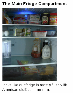 A look inside the fridge