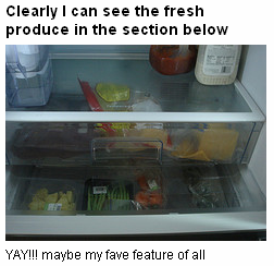 fave feature of new fridge